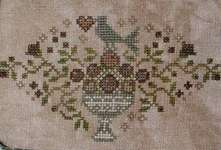 Click for more details of Deck the Halls (cross stitch) by Blackbird Designs
