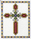 Click for more details of Decorative Crosses (cross-stitch pattern) by Jeanette Crews
