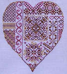 Click for more details of Deepest Love (cross-stitch pattern) by Turquoise Graphics & Designs