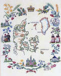 Click for more details of Denmark - The Country and its People (cross-stitch kit) by Eva Rosenstand