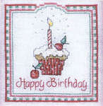 Click for more details of Dessert of the Month Part 1 (cross-stitch pattern) by Sue Hillis Designs