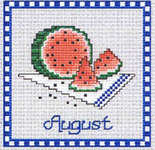 Click for more details of Dessert of the Month Part 3 (cross-stitch pattern) by Sue Hillis Designs
