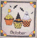 Click for more details of Dessert of the Month Part 4 (cross-stitch pattern) by Sue Hillis Designs