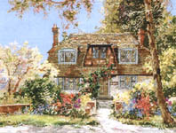 Click for more details of Devon Cottage (cross-stitch pattern) by Pegasus