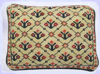 Click for more details of Dhurri Rombos Cushion Front (tapestry kit) by Taller de Canamazo
