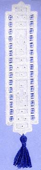 Click for more details of Diamond bookmark (hardanger) by Permin of Copenhagen