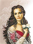 Click for more details of Diva (cross-stitch kit) by Lanarte