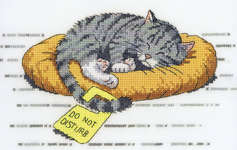 Click for more details of Do Not Disturb (cross-stitch kit) by Peter Underhill