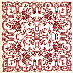 Click for more details of Dogwood Lace (cross-stitch pattern) by Rosewood Manor