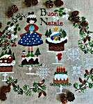 Click for more details of Dolci Regali Di Natale  (cross stitch) by Lilli Violette