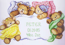 Click for more details of Down for a Nap (cross-stitch kit) by Janlynn