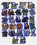 Click for more details of Dragon Alphabet (cross-stitch) by dragon dreams