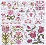 Click for more details of Dreaming of Tulips (cross stitch) by Rosewood Manor
