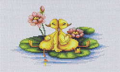 Click for more details of Duckling (cross-stitch) by Luca - S