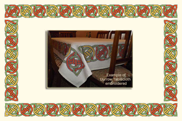 Click for more details of Durrow Tablecloth (digital downloads pattern) by EolasNanSul