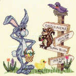Click for more details of Easter Avenue (cross-stitch pattern) by Glendon Place