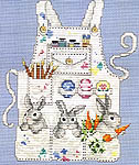 Click for more details of Easter Bunny's Apron (cross-stitch pattern) by Sue Hillis Designs