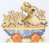 Click for more details of Easter Parade (cross-stitch pattern) by Sue Hillis Designs