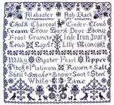 Click for more details of Ebony and Ivory (cross-stitch) by Tempting Tangles Designs