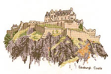 Click for more details of Edinburgh Castle (cross-stitch pattern) by Sue Ryder