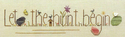 Click for more details of Egg Hunt (cross-stitch pattern) by Heart in Hand