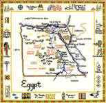 Click for more details of Egypt (cross-stitch pattern) by Sue Ryder