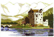 Click for more details of Eilean Donan Castle (cross-stitch kit) by Rose Swalwell
