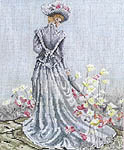 Click for more details of Elegance of Spring (cross-stitch pattern) by Pegasus