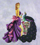 Click for more details of Eleni, the Beauty of Troy (cross-stitch pattern) by Cross Stitching Art