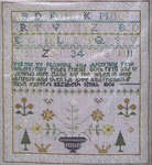 Click for more details of Elizabeth Smith - 1806 (cross-stitch pattern) by Pineberry Lane