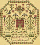 Click for more details of Elizabeth Wood 1822 (cross stitch) by With my Needle