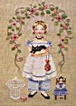 Click for more details of Emma Rose (cross-stitch pattern) by Brooke's Books