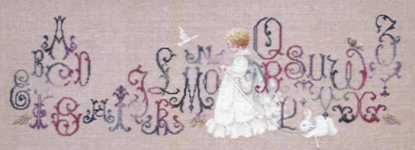 Click for more details of Enchanted Alphabet (cross stitch) by Lavender & Lace