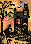 Click for more details of Enchanted : Pumpkin House (cross stitch) by Bothy Threads