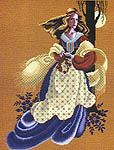 Click for more details of Evangeline (cross stitch) by Lavender & Lace