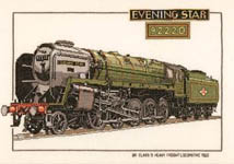 Click for more details of Evening Star (cross-stitch) by Dave Shaw