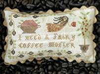 Click for more details of Fairy Coffee Mother (cross stitch) by Heartstring Samplery