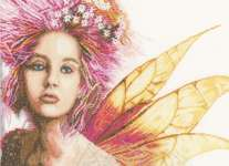 Click for more details of Fairy (cross-stitch kit) by Lanarte