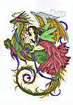 Click for more details of Fairy Enchantment (cross-stitch) by House of White Birches