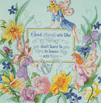 Click for more details of Fairy Friends (cross-stitch kit) by Janlynn