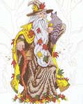 Click for more details of Fall Wizard (cross stitch) by Kappie Originals