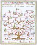 Click for more details of Family Tree (cross stitch) by Eva Rosenstand