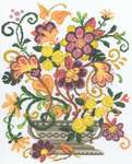 Click for more details of Fantasy Blooms (cross-stitch) by Imaginating