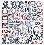 Click for more details of Favorite Alphabets (cross-stitch pattern) by Pat Rogers
