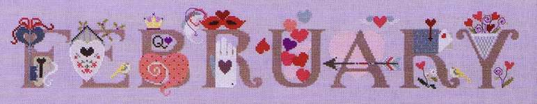 Click for more details of February (cross stitch) by The Cross-Eyed Cricket