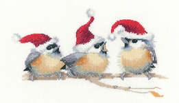Click for more details of Festive Chicks (cross stitch) by Valerie Pfeiffer