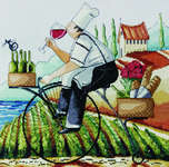 Click for more details of Fine Wine (cross-stitch kit) by Design Works