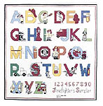 Click for more details of Firefighter's Sampler and Alphabet (cross-stitch pattern) by Art Ventures