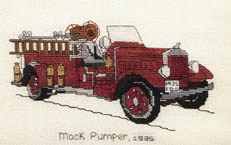 Click for more details of Fireman's Pride II (cross stitch) by The Family Tree