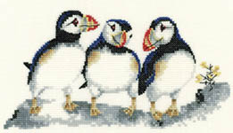 Click for more details of Fish Tonight (cross-stitch kit) by Valerie Pfeiffer